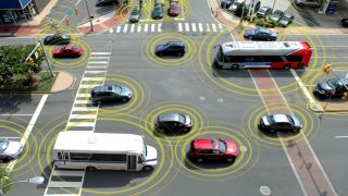 Car to car communication test seeks to prove a theory