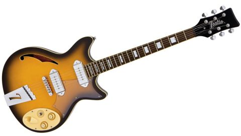 Also available in a more flamboyant cream finish, our Fiorano Standard is relatively demure in Tobacco Sunburst