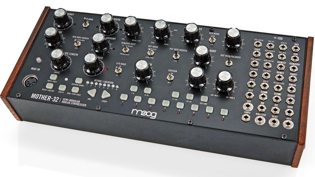 moog mother 32 synthesizer review musicradar. Black Bedroom Furniture Sets. Home Design Ideas
