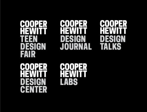Pentagram creates new typeface for Smithsonian Design Museum's logo