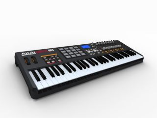The MPK61 sits towards the upper-end of the keyboard range.