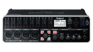 Roland Studio Capture front panel metering ahoy