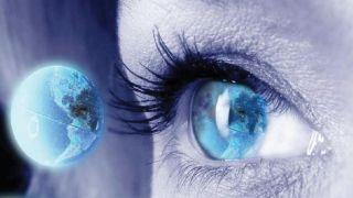 Eye and globe