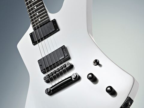 The SnakeByte is Hetfield's latest signature model for ESP.
