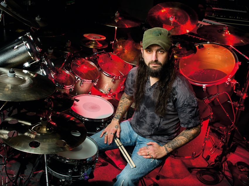 Mike Portnoy S 2012 Drum Setup In Pictures Musicradar