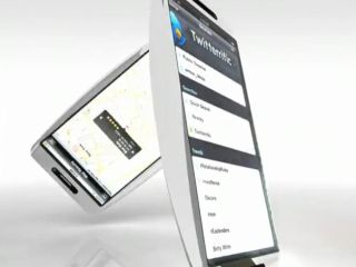 A mock-up of the iPhone HD