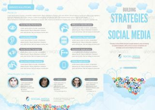 Best brochure templates social media