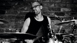 Online session drummer and tutor Tim Brown