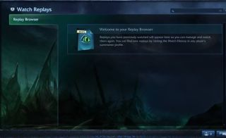 LoL Replay PBE UI, by Riot Games