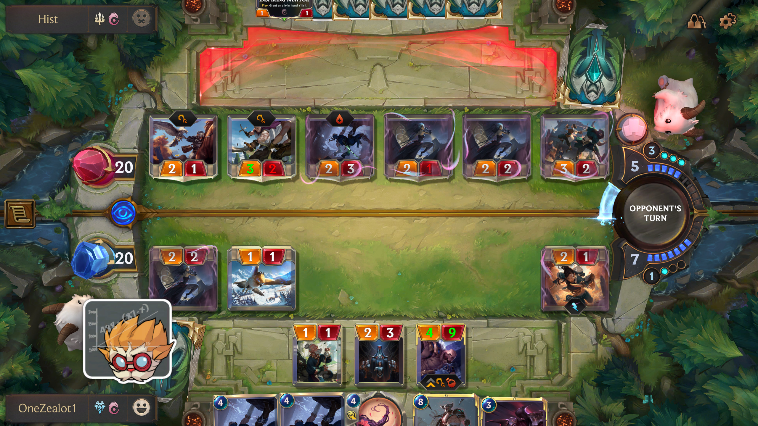 A game of Legends of Runeterra