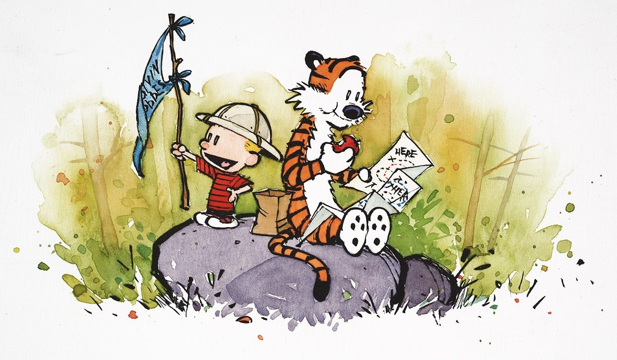 Calvin and Hobbes Bill Waterson