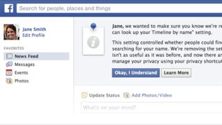 Facebook privacy features