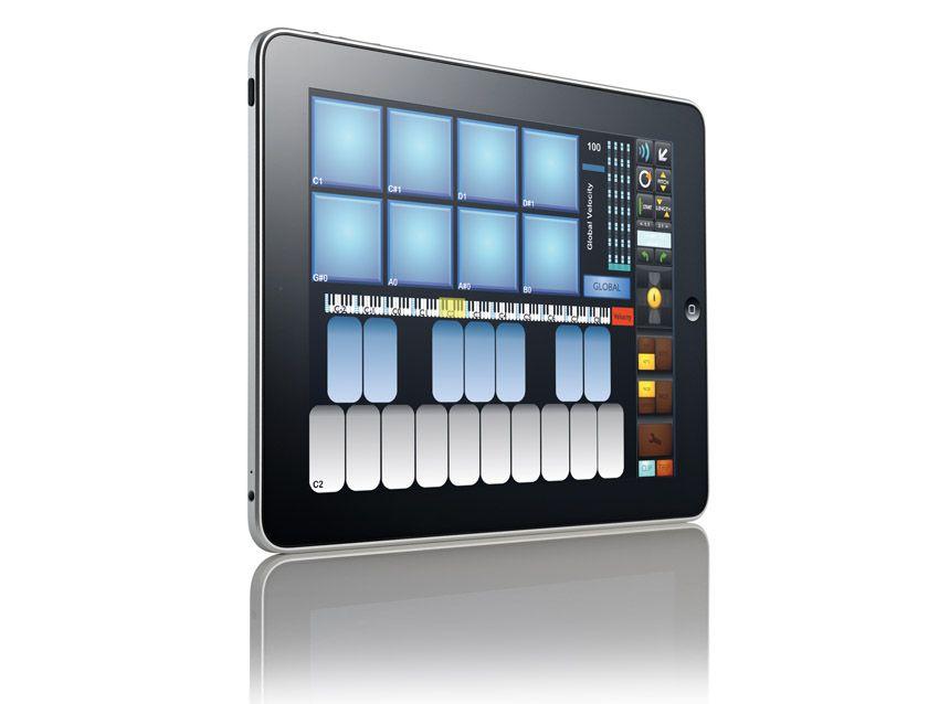 touchable ableton controller musicradar. Black Bedroom Furniture Sets. Home Design Ideas