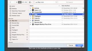 how to delete photos on mac