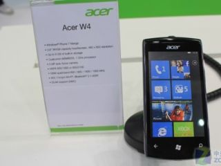 Acer W4 - not exactly a leap or a bound in the design department