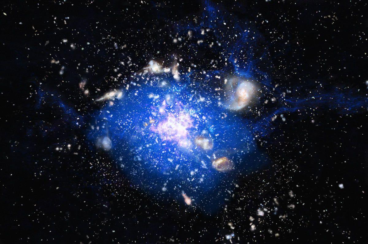 Galaxy Space Wallpaper 4k Apk Download: Galactic 'Spiderweb' Has Unusual Feeding Habits