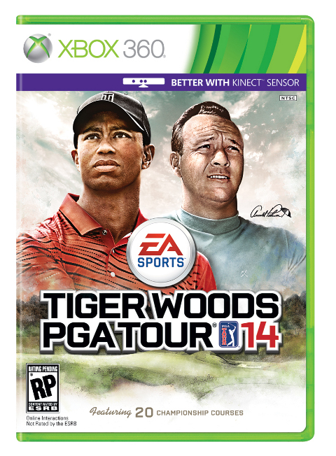 Tiger Woods PGA Tour 14 Features Arnold Palmer #24684