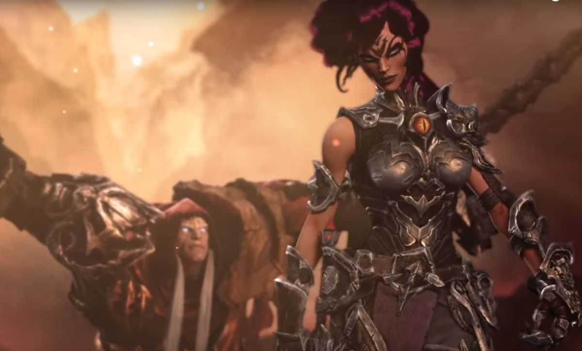 Darksiders 3 trailer reveals Fury, the whip-wielding ...