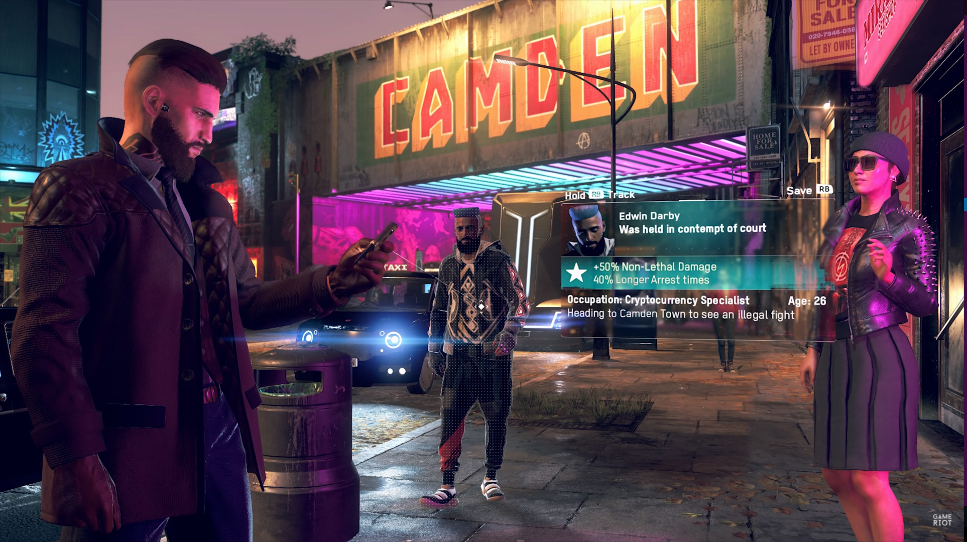 I am already hopelessly obsessed with Watch Dogs Legion's
