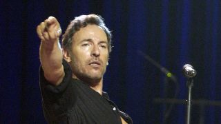 Bruce Springsteen onstage