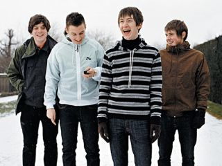 Arctic Monkeys laughing all the way to the studio. And bank.