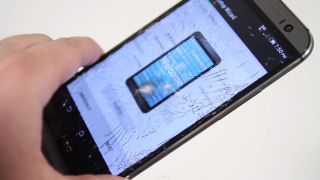 Guess what happens when you hit an HTC One M8 with a hammer