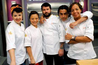 Nina Compton and other 'Top Chef' Season 11 contestants.