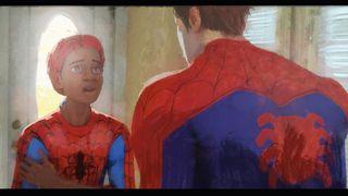 lighting keys: Spider-man
