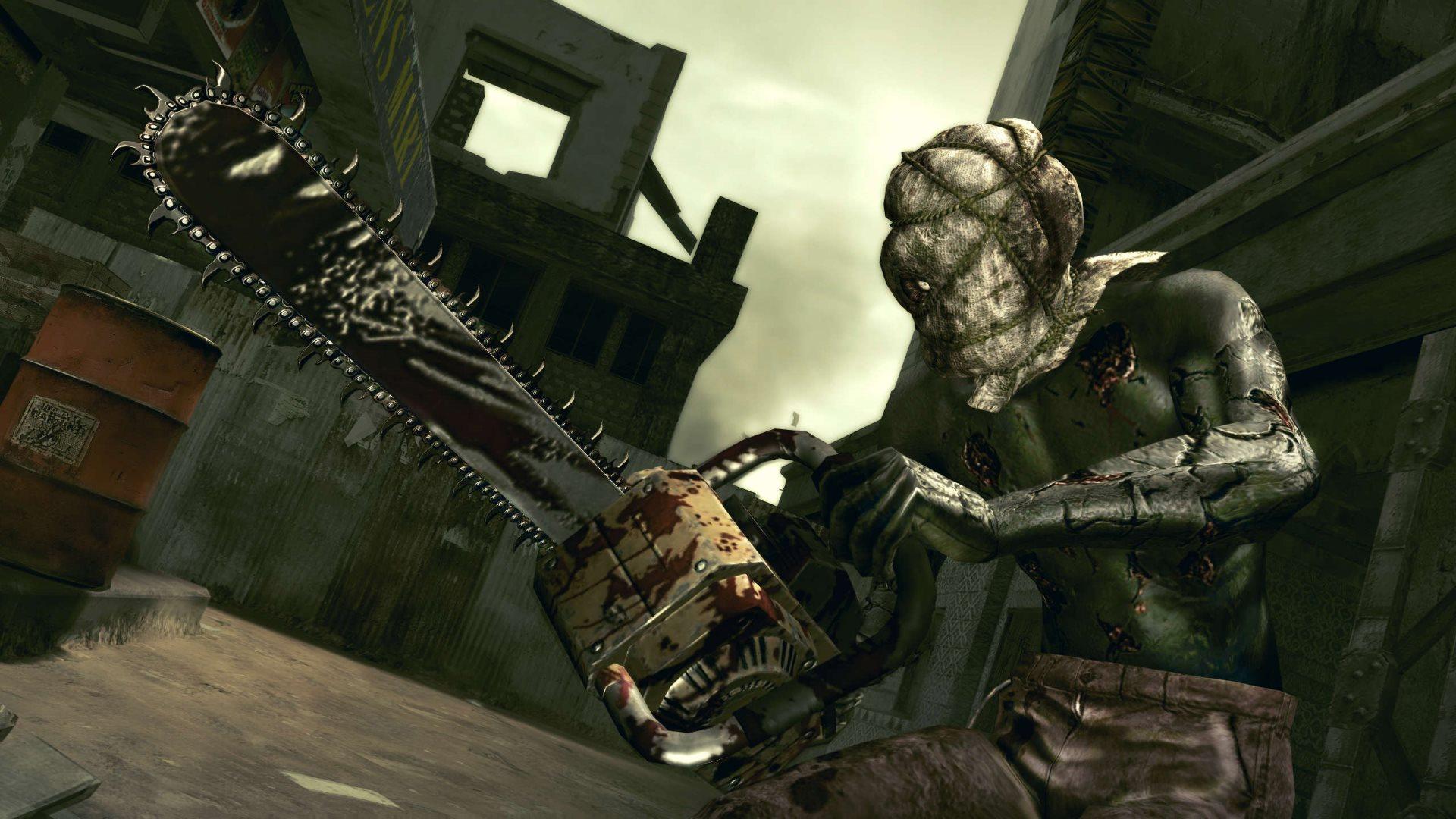 Resident Evil 5 split-screen play is back, sort of | PC Gamer