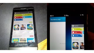 Android running on Blackberry