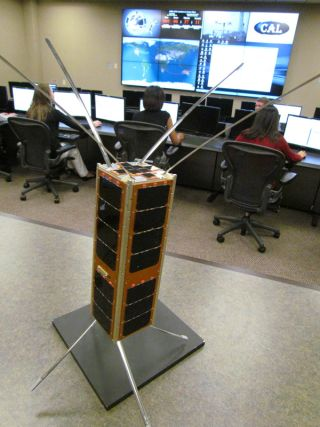 The SMDC-ONE is a 10-inch long, 10-pound satellite that is the first in a family of Army nanosatellites that SMDC/ARSTRAT engineers hope to launch as a new capability for the war fighter.