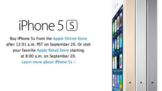 iPhone 5S email