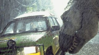 CGI? Pah! Watch how engineers built Jurassic Park's 40-foot, 9,00lb T-Rex