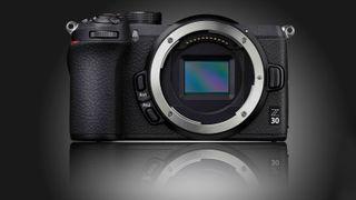 Nikon Z30 mockup