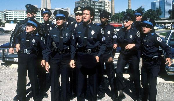 Police Academy original cadets lineup