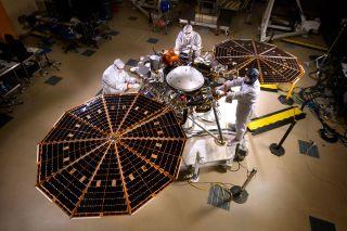Testing of NASA's Mars InSight Lander