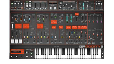 The interface is now dark orange and black, reflecting ARP's third-generation colour scheme