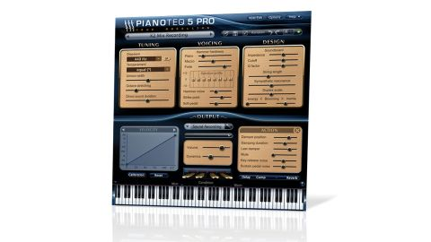 Version 5's improvements apply to all of Pianoteq's piano models, including the new Grand Piano K2
