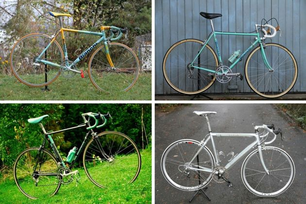 Cycling obsessions  The man with 17 Bianchi bikes - Cycling Weekly b2e17ff109e