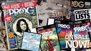 Plus 2021 Art Of Prog calendar, Enlgish Electric label sampler feat. Big Big Train, Dyble Longdon and more and free 11-track CD featuring the best of new progressive music