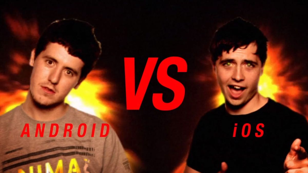Video: iOS vs Android, the ultimate battle