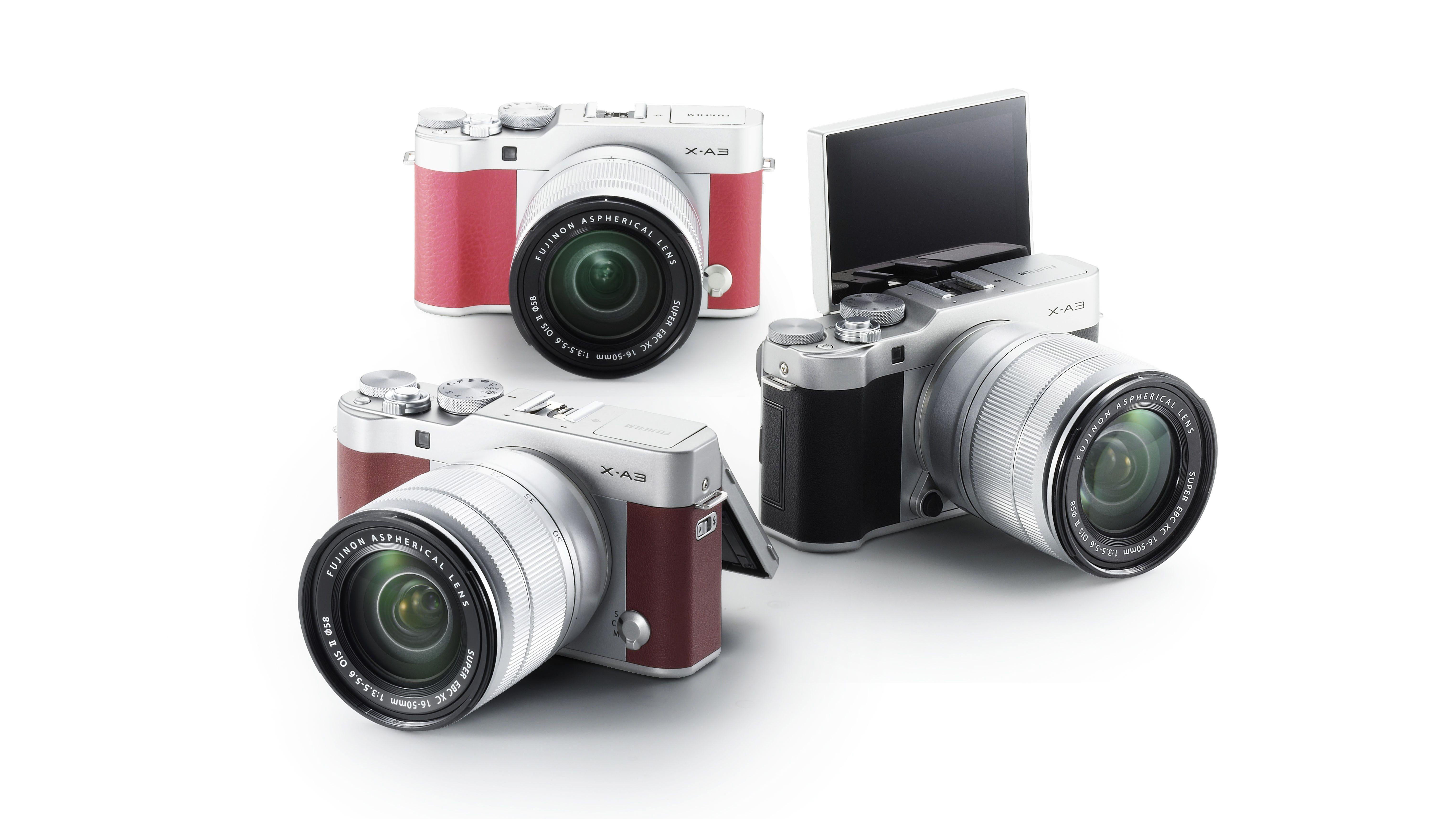 The Fujifilm X-A3 is the retro camera for selfie lovers | TechRadar