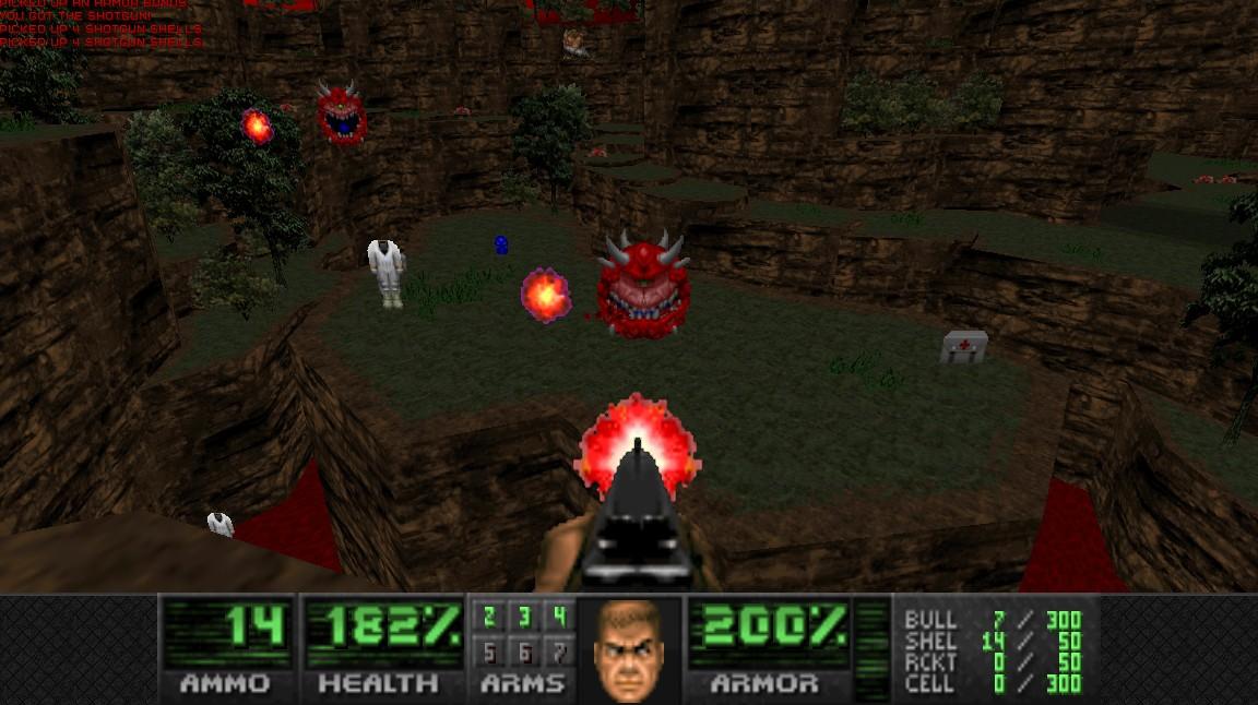 Doom 2 megawad Valiant offers 32 new maps and custom weapons