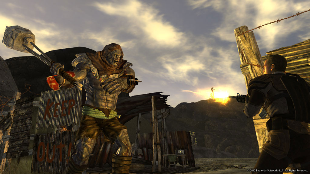 New Vegas Mod Adds Bullet Time And Other Awesome Features Pc Gamer