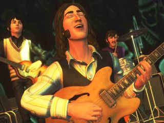 Paul John and Ringo in Revolution mode