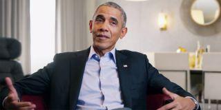 Barack Obama in The Last Dance doc