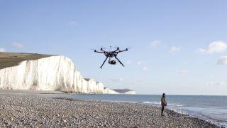 Beach drone