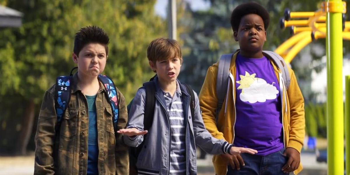 Brady Noon, Jacob Tremblay and Keith L. Williams in Good Boys