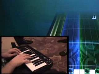 The Rock Band 3 keyboard is currently in prototype.