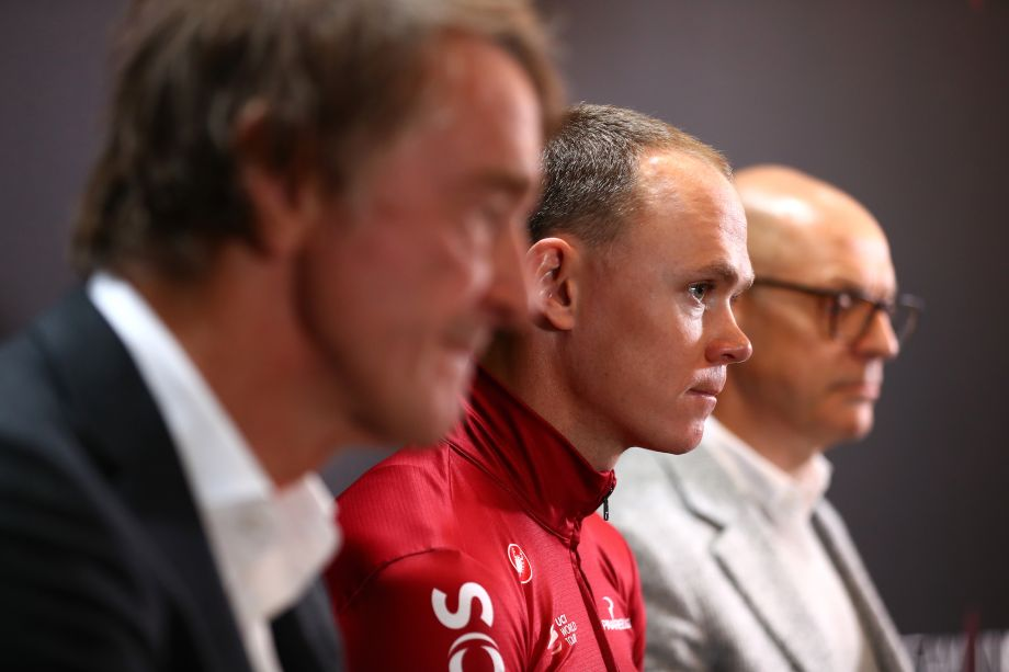 Chris Froome defends Ineos sponsorship amid criticism